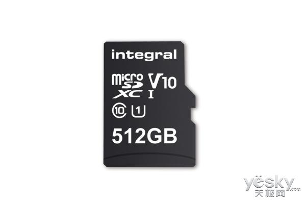 512GB的MicroSD卡将在下个月开始铺货