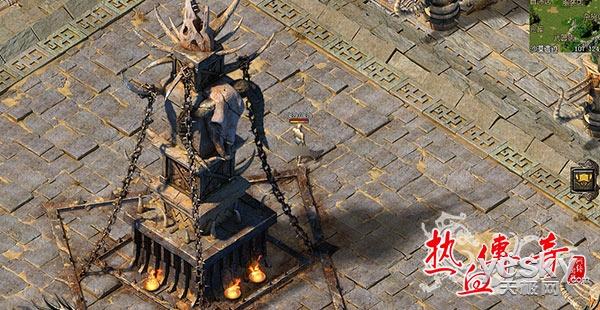 《热血传奇》新地图新怪物 沙漠遗迹新版本全面登陆