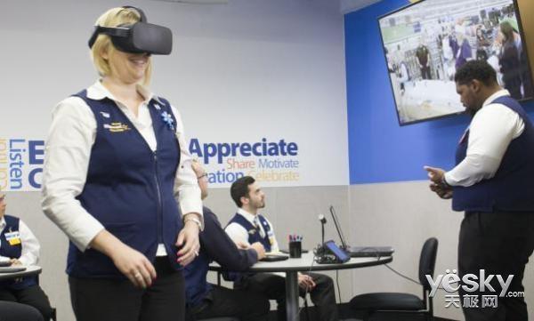沃尔玛收购VR初创公司:将改变传统购物方式?