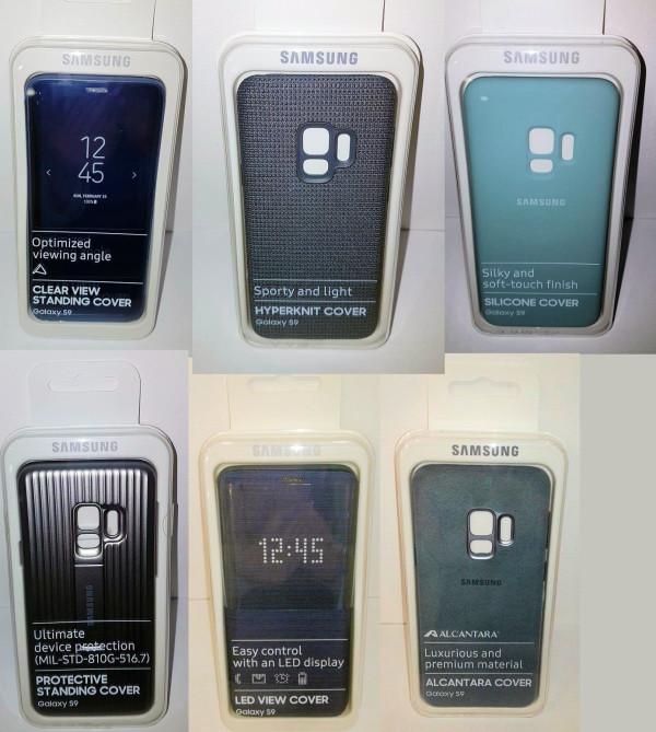 三星Galaxy S9官方保护壳曝光 种类还是那么丰富