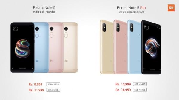 每日IT极热 红米Note5/5 Pro率先在印度发布 首发骁龙636