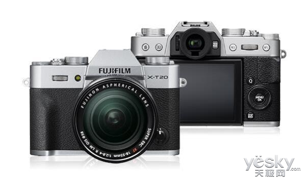 FUJIFILM X-T20(版本2.00)全新固件更新即将发布