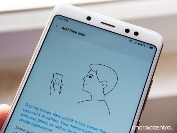 红米Note 5 Pro提前获MIUI更新 开启面部解锁