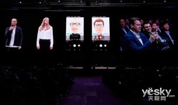 为AR Emoji 三星与迪士尼联手:用户可将自己的表情套在米老鼠上