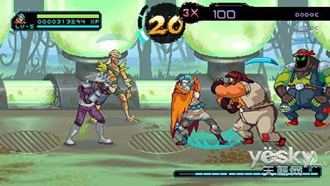喜欢被动的玩家过瘾了 《被动拳之路》登陆Steam和PS4