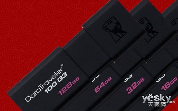 更多选择 金士顿 DataTraveler 100 G3 USB 闪存盘优惠不停歇