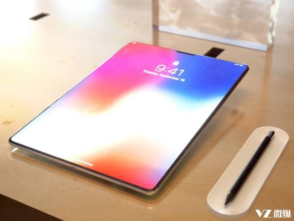 采用齐刘海式全面屏?新一代iPad Pro于6月正式发布