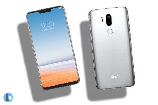LG G7渲染图曝光:刘海屏+LG V30设计语言