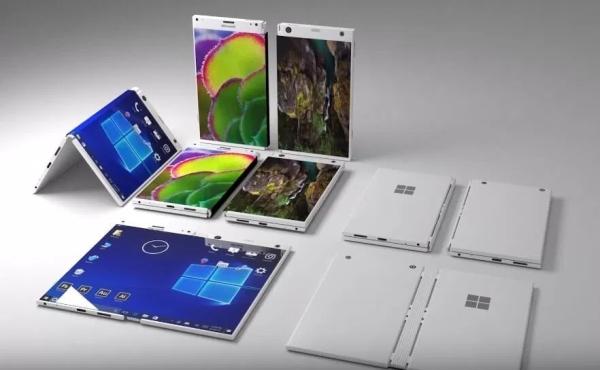微软新专利暗示Surface Phone或支持背部触控