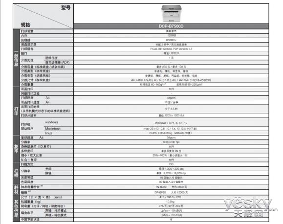 """""""按需供粉""""行业先驱 兄弟DCP-B7500D黑白激光一体机评测"""