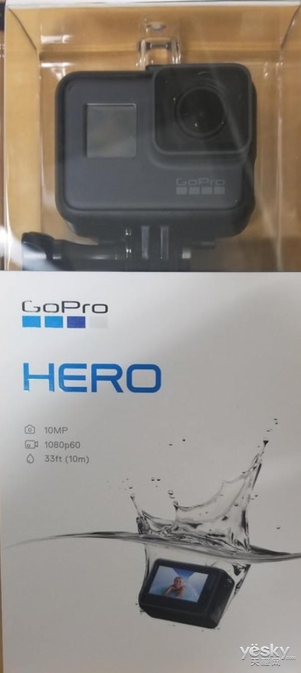 入门级GoPro HERO相机曝光,或月底发布,售价不超过200美元
