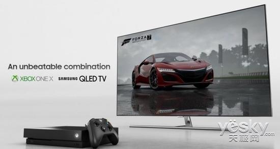 合作升级 三星QLEDTV新品将支持微软Xbox游戏模式