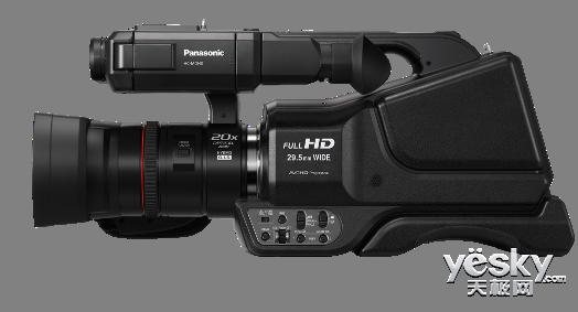 松下发布肩扛式摄像机MDH3,婚庆摄像再延续