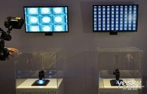 巨头纷纷加入MicroLED市场,显示产业格局将变