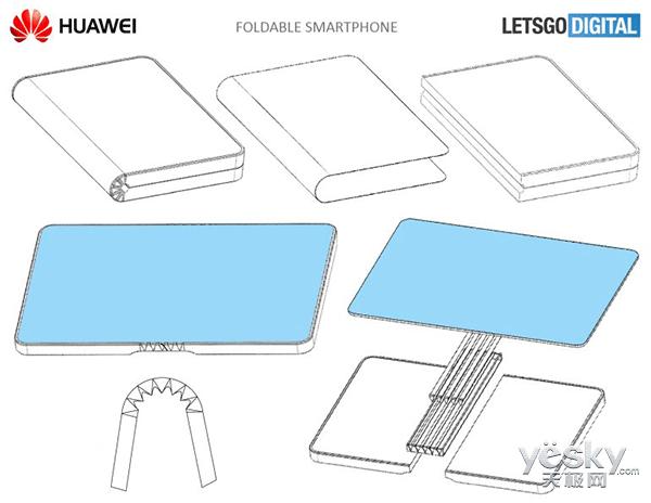 华为新专利爆出 真正的折叠屏要来了!