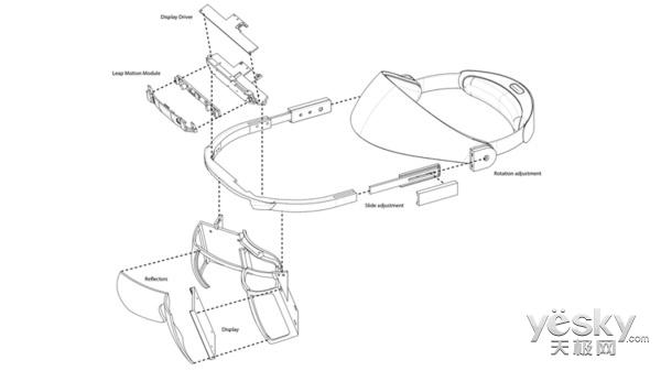 Leap Motion推出支持手势识别AR头显 量产价格或低于100美元
