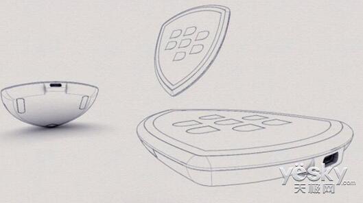 充电器草图曝光:黑莓智能手机或将支持无线充电技术