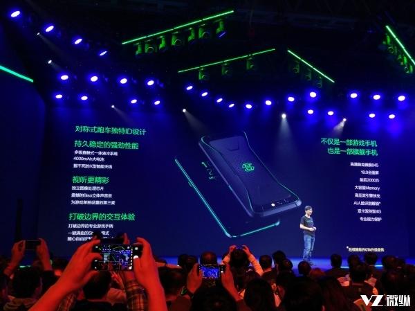 小米力挺的黑鲨手机 能否引领游戏手机行业?