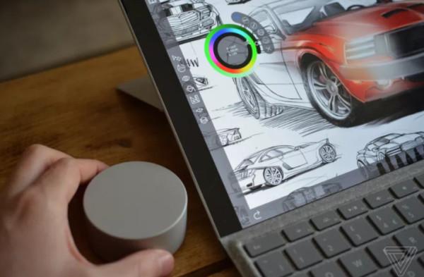 Surface Pro 4获固件更新 终于支持Dial屏幕菜单