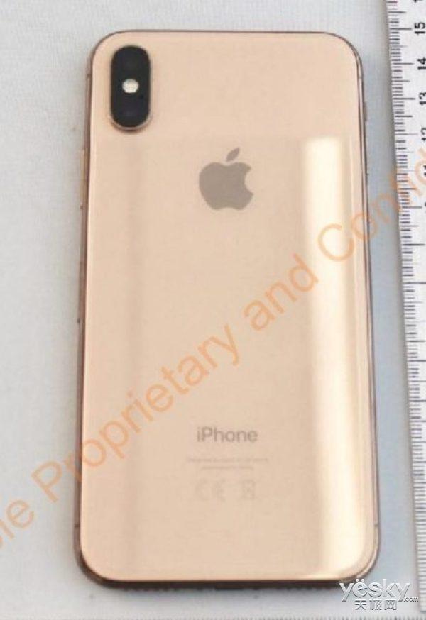 传闻中的金色版iPhone X现身FCC:就要发布的节奏?