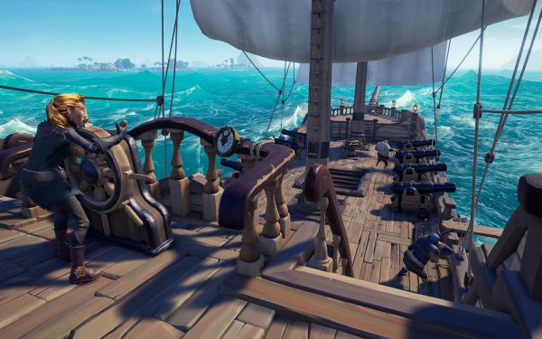 《盗贼之海》5月份发布更新 迎接新敌人新船型和新地图!