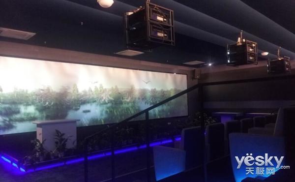 理光顶级激光投影进驻展览馆,展示迁西城市规划建设成果