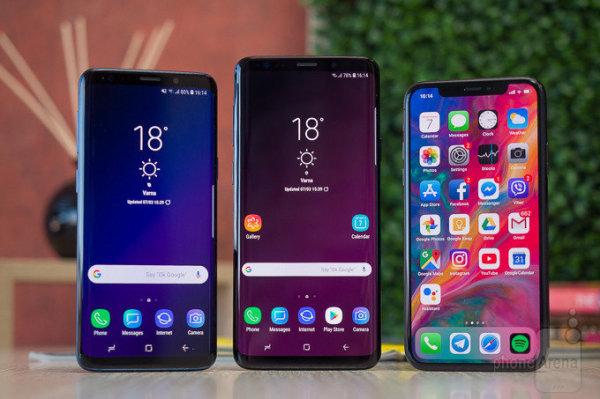 消费者报告:Galaxy S9超iPhone X成最佳智能手机