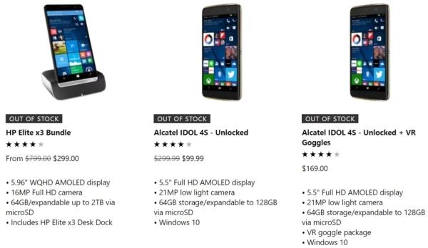 彻底说再见 微软官方商城已清完Windows Phone库存