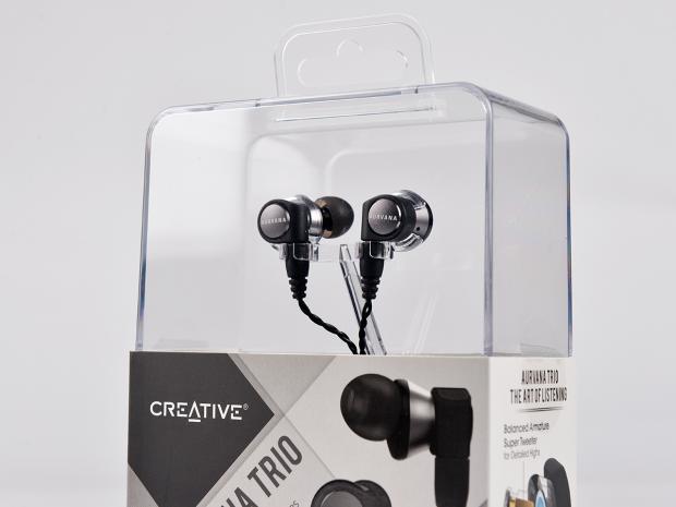 创新的千元HIFI耳机之路 AURVANA TRIO耳机评测