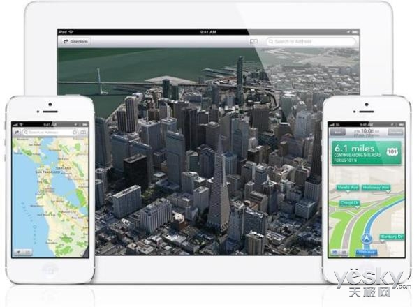 苹果将环游世界啦:为备受吐槽的Apple Maps收集数据