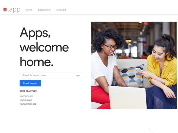 安卓开发者福利!谷歌推出「.app」域名网站:仅限开发者使用