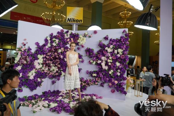 P&E 2018:尼康馆超大场地逛不停 体验多种拍摄场景