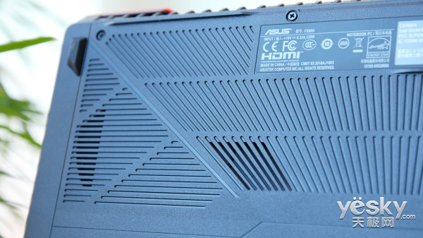 炫酷全新模具+八代酷睿 华硕第五代飞行堡垒FX80评测