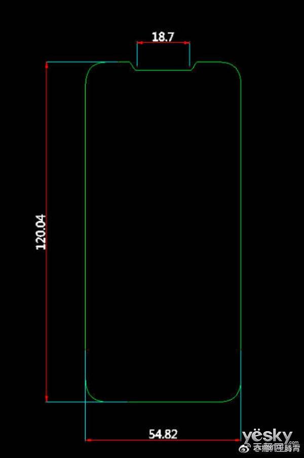 小尺寸的刘海屏?iPhone SE2保护膜曝光