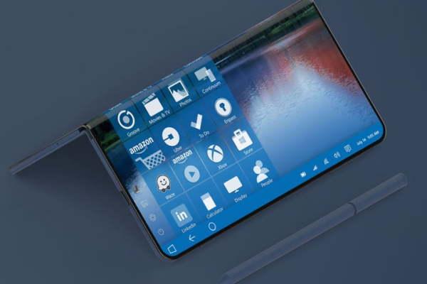 这会是Surface Phone么?微软三屏折叠手机专利曝光