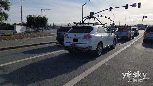 彻底超越特斯拉:苹果无人驾驶测试车数量已经达到55辆