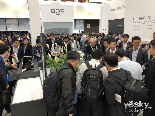 聚焦SID2018:BOE(京东方)展示8K、柔性等创新显示解决方案