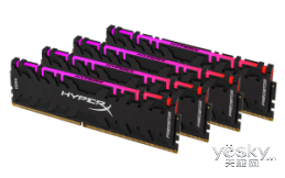 HyperX Predator掠食者DDR4 RGB版红外同步灯条内存全新上市