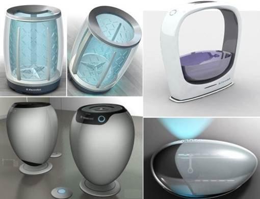 新概念洗衣机设计 未来将改变我们的洗衣方式