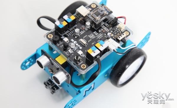 mBot教育机器人 带来编程多样化体验