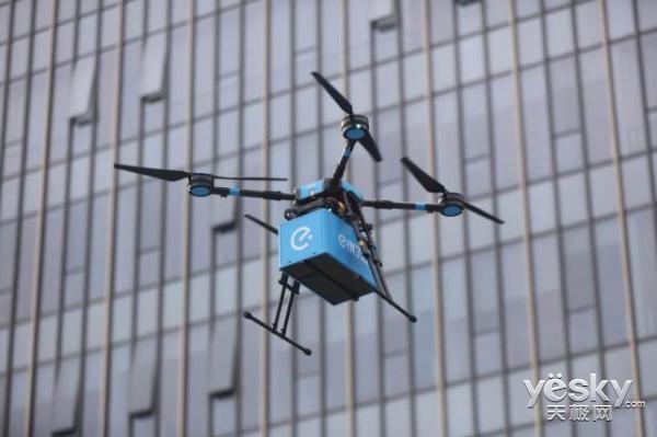 无人机空运外卖成为现实!饿了么获准开辟中国首条外卖无人机航线