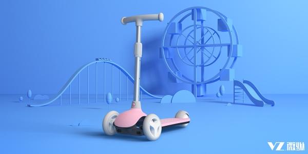 米兔儿童滑板车发布只要249元 安全与灵活都具备了