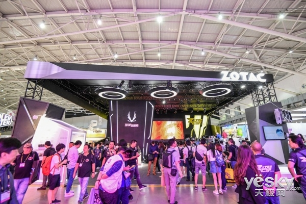 科技与电竞的碰撞 索泰COMPUTEX 2018硬件和ZCUP索泰杯精彩来袭