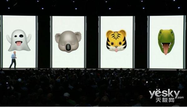 WWDC 2018 苹果新表情Memoji横空出世 让你玩转表情
