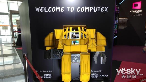 COMPUTEX 2018:这些全是电脑,就问你怕不怕!