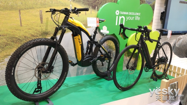 BESV TRB1亮相COMPUTEX 2018,拥有756Wh电力的彪悍单车