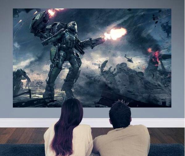 客厅装电视机和装投影仪哪个更好?看完你就知道了