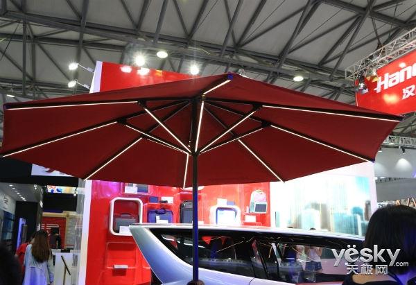 2018 CES Aisa:汉能发布汉包系列产品 给你一个智能充电舱