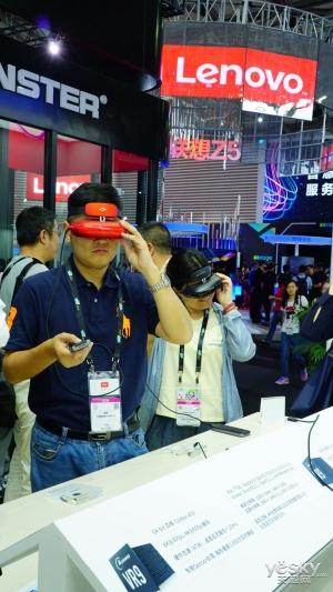 随身3D高清播放 GOOVIS G2智能眼镜亮相CES Asia展