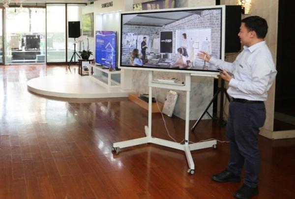 三星智能互动电子白板Flip,展示全新创作方式